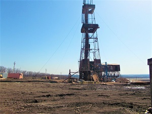 Drilling of Three Wells of PJSC