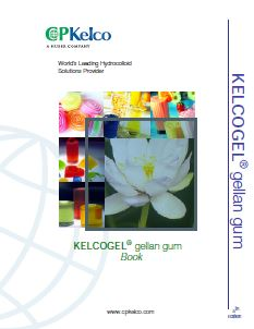 Cover of KELCOGEL® gellan gum